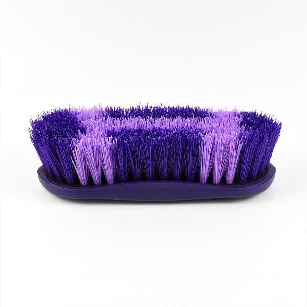 multisize colorful cuspidal bristle  horse grooming brush products